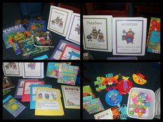 Fun monster theme available on 1 - 2 - 3 Learn Curriculum. (Picture shows items printed up and stored in 3 ring binders, and made into crafts, file folder games).  To learn how to become a member of 1 - 2 - 3 Learn Curriculum, please click on picture. For only $30.00 a year (In Home Child Care or $55. for Centers). Thank you for viewing and pinning... file folder, folder game