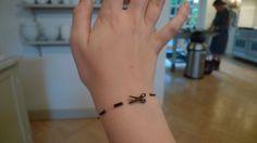 Cut Here Bracelet