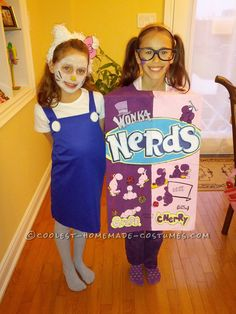 Nerds Box and Hello Kitty DIY Costumes for Girls... Coolest Halloween Costume Contest