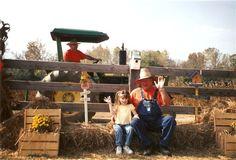Pumpkin Patch Farm in Adairsville, Georgia.