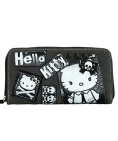 Hello Kitty Angry Punk Wallet - $30.00