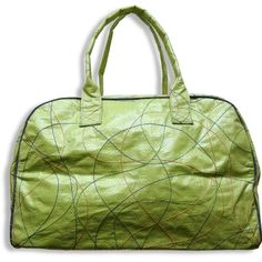 Image 1  Eco Travel Bag Recycled Rice Bag STOPstart Cambodia. Cute, ecofriendly AND for a good cause.
