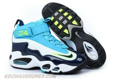 Pure Platinum-Midnight Navy-Neo Turquoise Nike Air Griffey Max 1