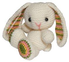Tutorial: conejo tejido a crochet (amigurumi bunny / easter) free-pattern