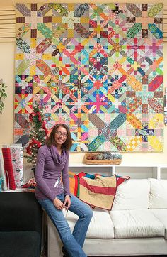 X and plus quilt