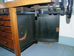 Patrick Leach's Workbench by Popular Woodworking, via Flickr