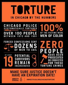 Over 100 African American men were systematically tortured by Chicago police between 1972 and 1991. Today, at least 19 men are still behind bars, all of whom maintain that they gave coerced confessions after being tortured.