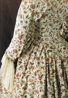 centuri fashion, 18th centuri, cotton robe, dress, book illustrations, toil de, antiqu, toile de jouy, histor costum