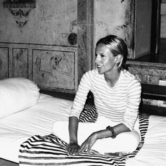 Tory Burch in India. Photograph by Gordon Hull, www.gordonharrisonhull.com.