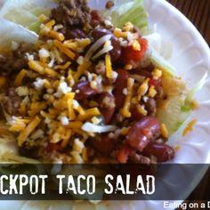 Crockpot Taco Salad