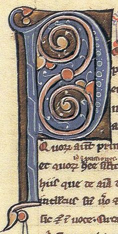 Detail of a tenth century French manuscript ca 988. medieval calligraphy prayer book illuminated sca