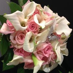 Floral arrangement from our Bordentown store #ACME #Wedding #Lily