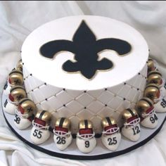 Saints cake! WH♡DAT?!