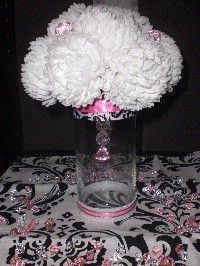 Another great bridal shower centerpiece idea