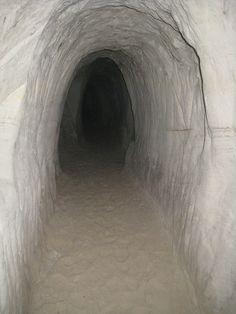 The Riežupe Sand Caves, Latvia #latvia #caves #sand