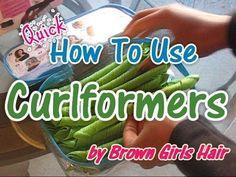 ▶ Quick Curlformer Tutorial Natural Hair - YouTube