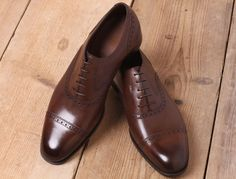 Gaziano & Girling Cap Toe Shoes #mens