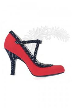 Ruby Shoo Dorothy red polka dot t bar Mary Jane shoes, the perfect summer shoe