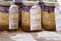 caned cookie mixes in a jar lables | these were such a hit at the shower, i'm already planning out colors ...