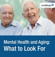 Mental health signs to watch for in the elderly