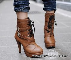 brown boots - Woman Shoes - Best Collection
