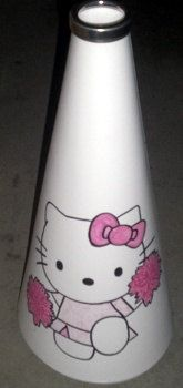 Hello Kitty #Megaphone  #Cheerleading