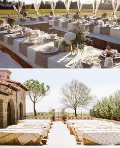 Burlap And Lace Wedding Ideas — Wedding Ideas, Wedding Trends, and Wedding Galleries