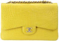 Yellow Chanel Bag