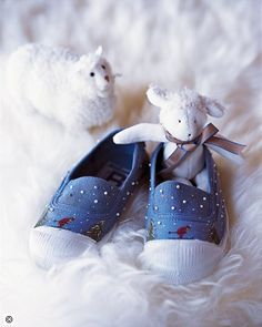 Petits chaussons de Noël