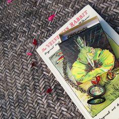 Reversible Metal Locket Carved Flowers & The Velveteen Rabbit Hand Painted on the Inside, by PaintedFancy, $100.00