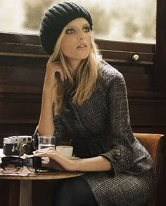 french chic at the cafe ...