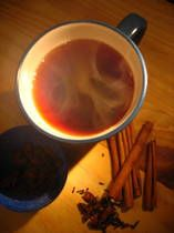 """Recipe for """"Glühwein"""" in German, is a traditional and tasty Christmas wine in Germany."""