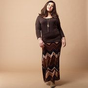 Save up to 60% off during the Shades of Chocolate: Plus-Size Apparel event on #zulily today!