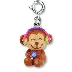 Charmit Jammin' Monkey Charm- $5.00