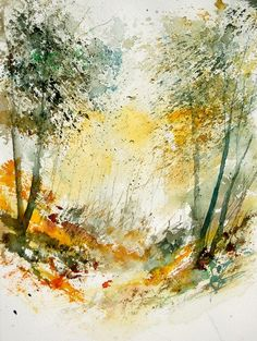 Watercolor - by pol ledent, Houyet, Belgium   Print available for purchase at link.bos