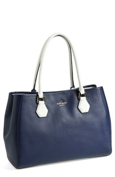 Toting this gorgeous Kate Spade bag in the office :)