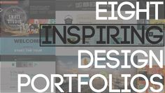 Great inspiration...8 Inspiring Design Portfolios #design #graphics