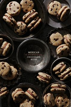 Mexican Chipotle Chocolate Bites via @Bakers Royale | Naomi