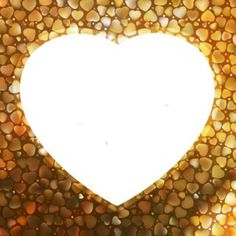 gold-frame-in-the-shape-of-heart