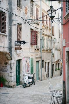 I love streets like this - Croatia. - Double click on the photo to get or sell a travel itinerary to #Croatia