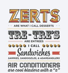 Typography Print Quote Print Parks and Recreation Tom by paperchat