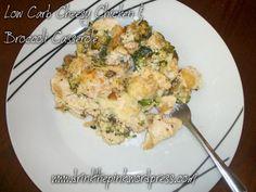 Low Carb Cheesy Chicken & Broccoli Casserole Recipe