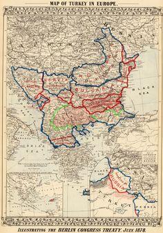Results of the Treaty of Berlin (1878) ~Repinned Via דְּבוֹרָה מִרְיָם
