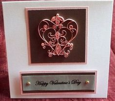 If Looks Could Quill: Love/Valentine's Day cards