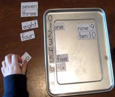 Ideas for teaching number words