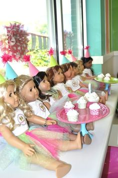 American Girl Birthday Party @Colleen King