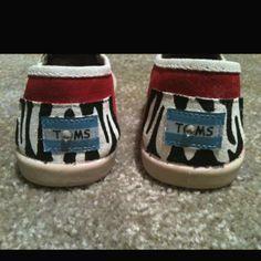 Zebra back