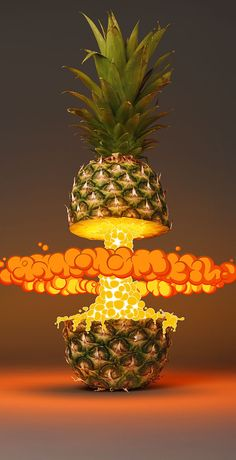 Tropical Blast by FOREAL™, via Behance #illustration #photography #fruit