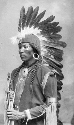 Taos Pueblo Man 1900
