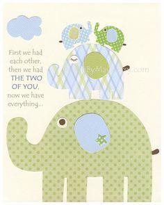 Baby boy Nursery wall art Decor Children Art..Twin by DesignByMaya, $17.00